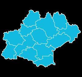 Fédération régionale de recherche en psychiatrie  Languedoc-Roussillon Midi-Pyrénées (carte)