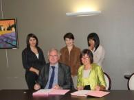 Signature de la convention avec la clinique Sensevia