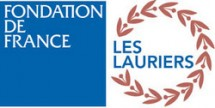 logo lauriers de la fondation de france
