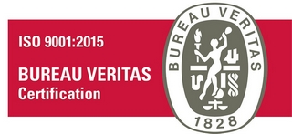 Veritas logo certification iso 9001/2015